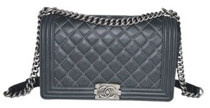 Chanel Boy Boy Calfskin Shoulder Bag