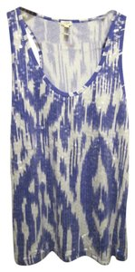 J.Crew Sequin Front Top Ikat