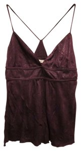 Lux Shimmering Urban Outfitters Top Purple