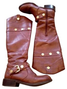 INC International Concepts Cognac Boots
