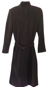 Narciso Rodriguez brown wool/cashmere blend Coat
