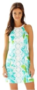 Lilly Pulitzer short dress Poolside blue on Tradesy