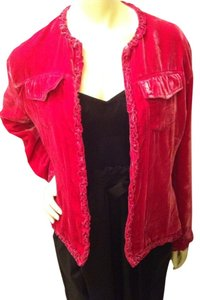 Chico's Fuscia Jacket