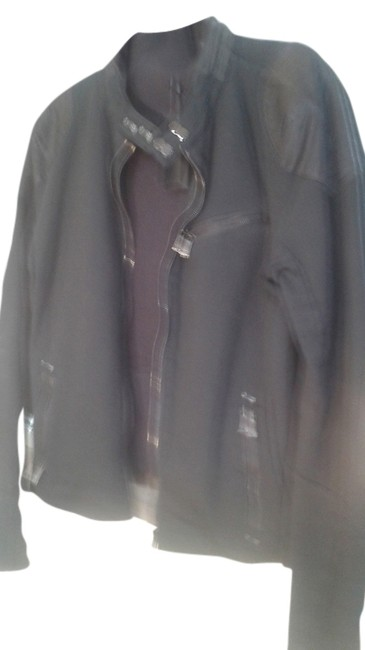 Item - Black With Padded Shoulder Jacket Size 16 (XL, Plus 0x)