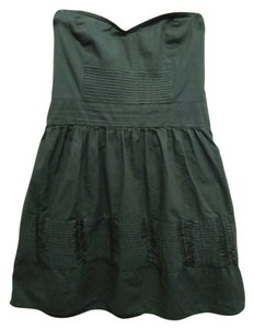 Kimchi Blue short dress Green Urban Outfitters Tube Top A-line on Tradesy