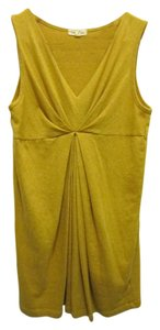 Silence + Noise short dress Yellow Urban Outfitters V-neck on Tradesy