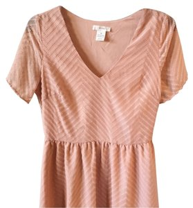 BCNU short dress Pink on Tradesy
