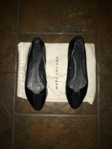 Marc Jacobs Patent Leather Black Flats