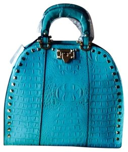 T21 Tote in Turquoise