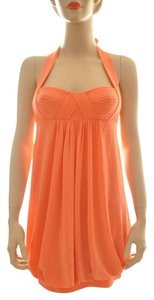 BCBGMAXAZRIA Orange Dress
