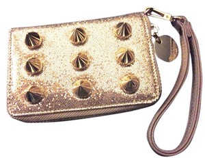 deux lux Sparkle Studded Wristlet in Gold