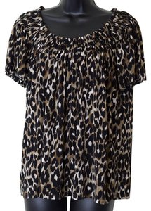 Style & Co Size 0x Top Animal Print