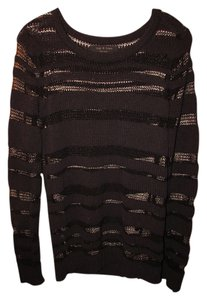 Rag & Bone Stripes Sheer And Sweater