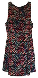 BeBop short dress Multi-colored with black accents on Tradesy