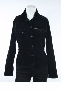 Faonnable Faconnable Velvet Jean Black Jacket