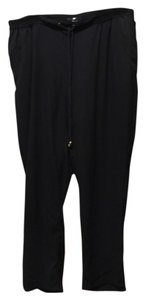 H&M Disco Relaxed Pants Black