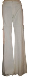 Alvin Valley Fitted Relaxed Cargo Pants White