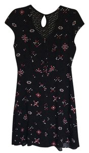 No Boundaries short dress Black with pink and white accents on Tradesy