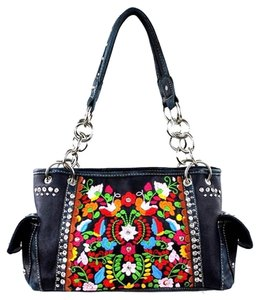 Montana West Embroidery Shoulder Bag