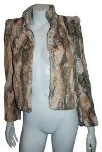 Alice + Olivia Faux Fur Fur Vest Coats Motorcycle Jacket