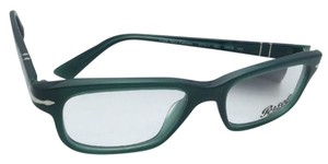 "Persol ""Film Noir Edition"" PERSOL Rx-able Eyeglasses 3073-V 1001 Green Frames"