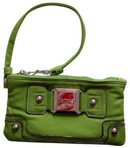 XOXO Wristlet in Lime Green