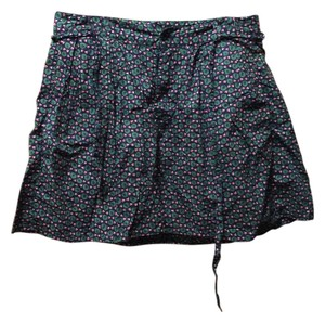 Gap Floral Mini Skirt Navy
