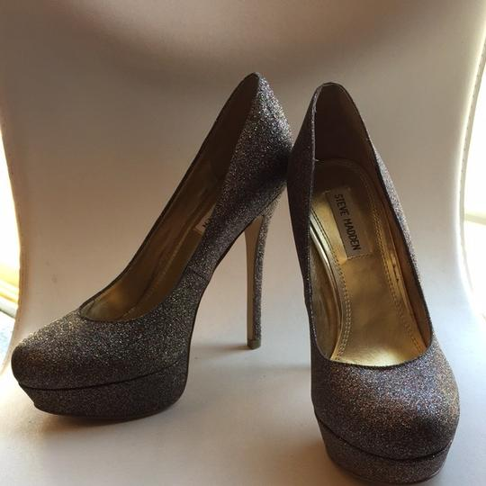 Steve Madden Glitter 8.5 Rare Sold Out 26purple Pumps