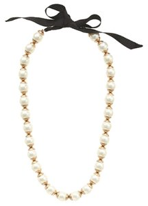 J.Crew J.Crew GILDED-EDGE PEARL NECKLACE item a2368