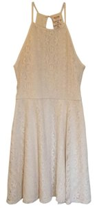 Mossimo Supply Co. short dress Off white on Tradesy