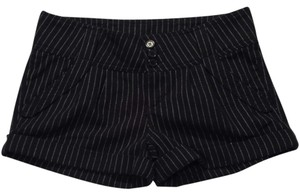 Other #wintershorts#blueshorts#stripedshorts Cuffed Shorts navy blue