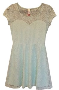 No Boundaries short dress Mint on Tradesy