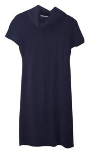 Ann Taylor LOFT short dress Dark navy blue on Tradesy