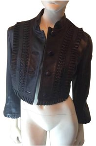 Temperley London Leather Jacket
