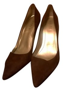 Ralph Lauren Chocolate Brown Pumps