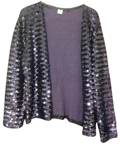 Day Of The Unicorn, Inc Beautiful Purple Sequin Jacket