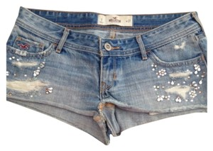 Hollister Mini/Short Shorts blue
