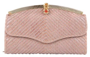 Judith Leiber Blush Clutch