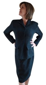 Ann Taylor Classy Ann Taylor Brown Wool Skirt Suit Set in Size 2