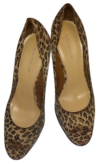 Worthington Peep Toe Leopard Pumps