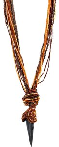 AFRO-FUSION HAND MADE STRINGS OF BEADS NECKLACE