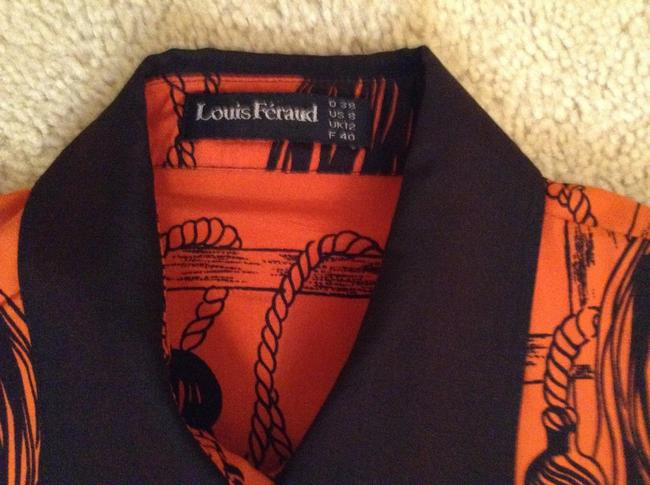 Louis Feraud Top Red and black