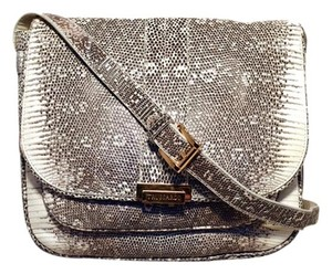 Trussardi Lizard Messenger Lizard Italy Ring Lizard Shoulder Bag