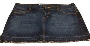 Bullhead Denim Co. Skirt Blue Jean