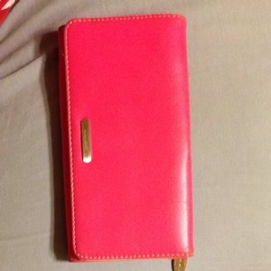 Nine West Pink Nine West Checkbook Wallett