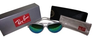 Ray-Ban Ray Ban Sunglasses RB4125 Clear Frame - Blue Lens.FLASH
