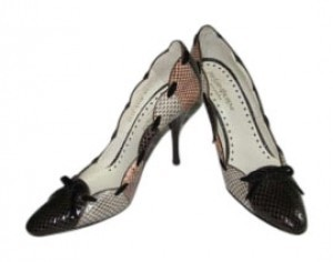 YVES SAINT LAURENT Multi / Brown Pumps