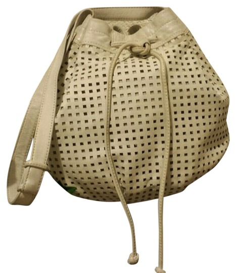 Other Perforated Sack Pouch Brio Vintage Drawstring Shoulder Bag
