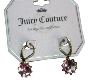 Juicy Couture NEW JUICY COUTURE PINK RHINESTONE DANGLERS