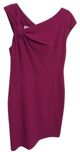 Suzi Chin for Maggy Boutique Sheath Fushia Ivy & Berry Dress